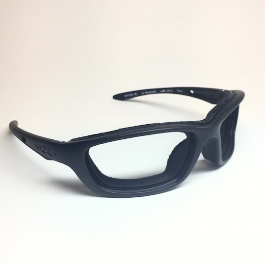 436f3eb595 Wiley X Brick with Clear Rx Lenses  Classic Goggles